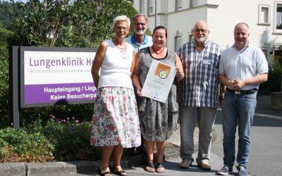 """Lungenklinik Hemer erneut als """"Familienfreundliches Unternehmen"""" ausgezeichnet"""