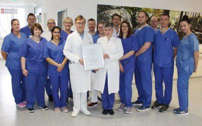 Weaningzentrum der Lungenklinik Hemer erneut erfolgreich zertifiziert