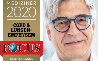 Focus-Ärzte-Liste 2020: Dr. Franz Stanzel TOP-Mediziner