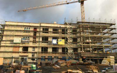 November 2020: Bauarbeiten nach einem Jahr voll im Plan: Lungenklinik Hemer bekommt neues Gesicht