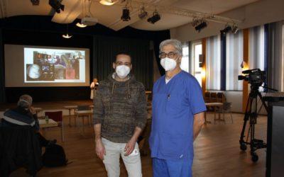Januar 2021: Fortbildung in Zeiten von Corona: Endoskopie-Workshop an der Lungenklinik Hemer als Online-Seminar