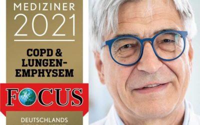 Focus-Ärzte-Liste 2021: Dr. Franz Stanzel TOP-Mediziner