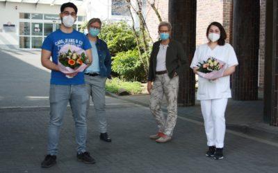 Examen in der Gesundheits- und Krankenpflege: Erfolgreiche Ausbildung in der Lungenklinik Hemer